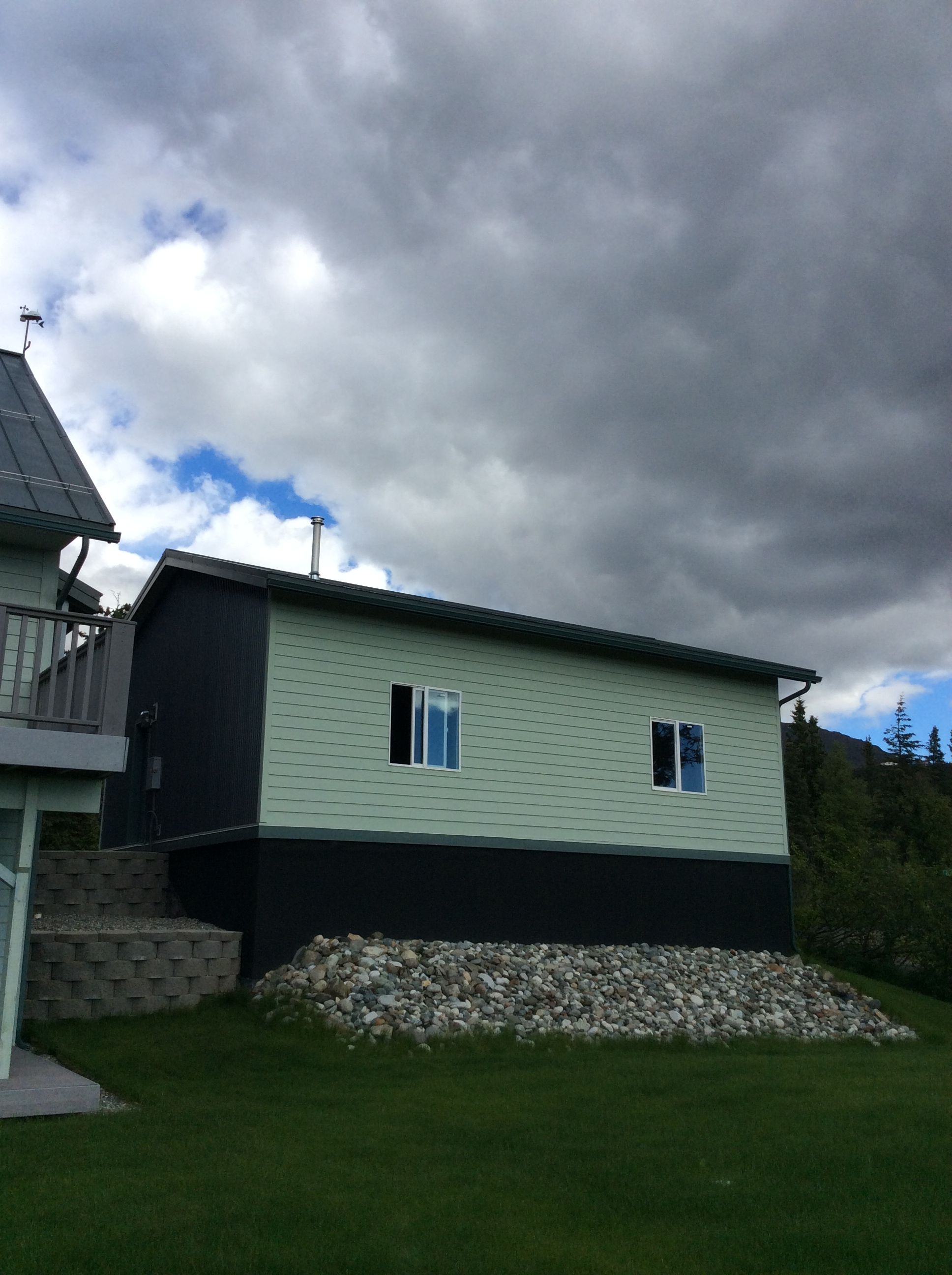 Premier Roofing Co 907 346 4131 Anchorage Alaska Metal Asc Skyline Panels Color Forest Green