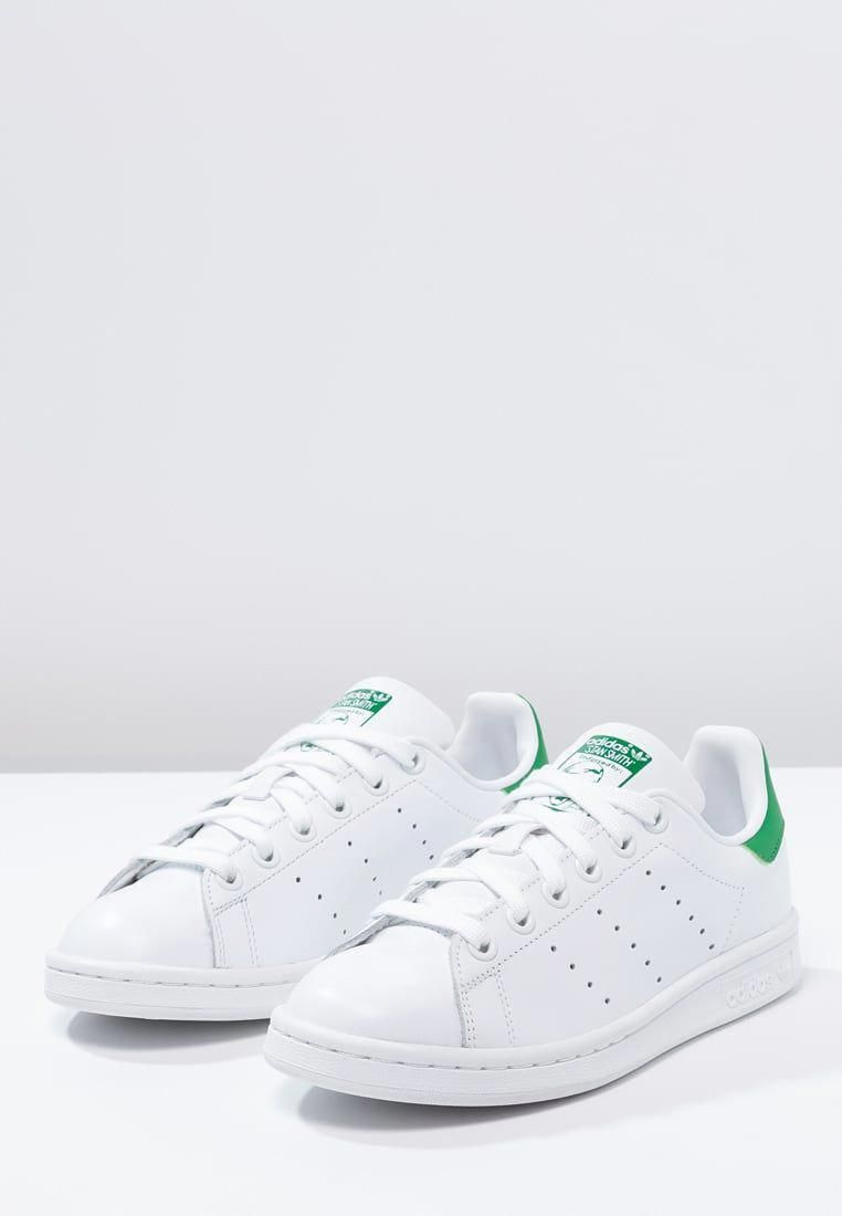 separation shoes cd5f3 02dc2 Homme adidas Originals STAN SMITH - Baskets basses - running white green  blanc…  MensFashionWinter