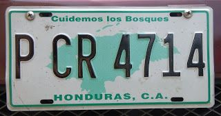 Life in Guatemala: License Plate Game Guatemalan Style