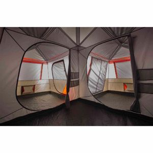 Merveilleux Ozark Trail 12 Person 3 Room L Shaped Instant Cabin Tent Image 8 Of 11