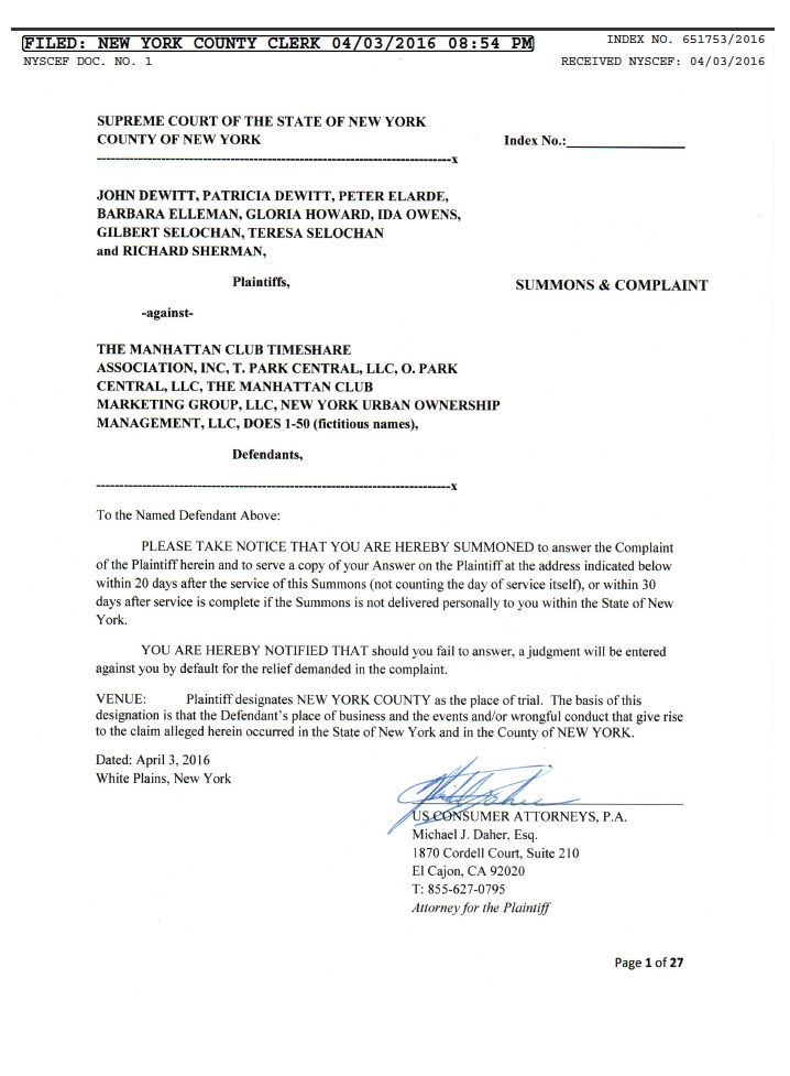 Timeshare Lawsuit Recent Timeshare Cancellation Laws Timeshare - sample ftc complaint form
