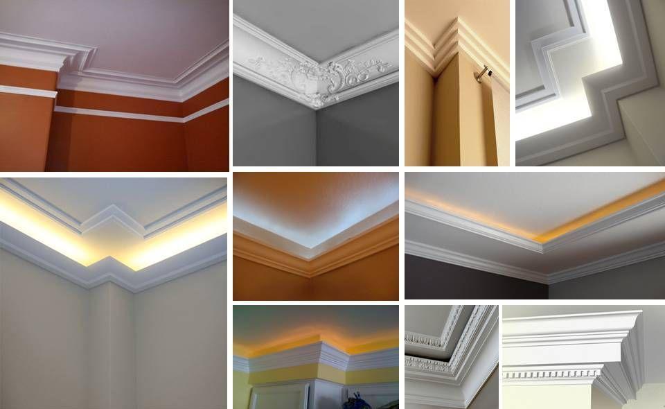 Architecture Design 35 Ceiling Corner Crown Molding Ideas