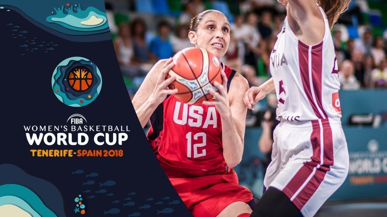 Latvia V Usa Highlights Fiba Women S Basketball World Cup 2018 Womens Basketball Uconn Womens Basketball Women