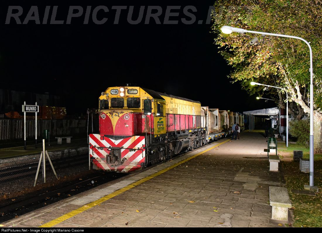RailPictures.Net Photo: 7726 Trenes Argentinos Cargas y Logisticas EMD G-22 CU at Buenos Aires, Argentina by Mariano Casone