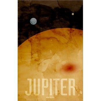 The Planet Jupiter - Michael Tompsett Art Prints - Outer Space