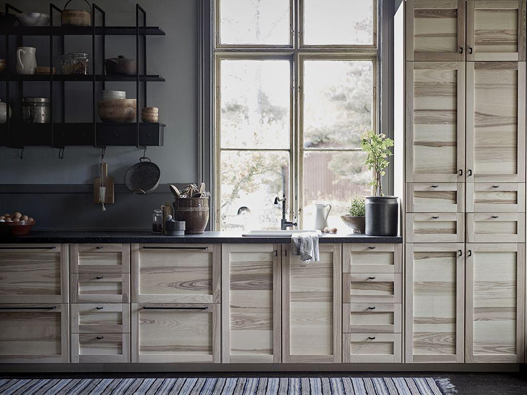 Novità Ikea: le nuove ante in legno per la cucina   IKEA   Pinterest ...