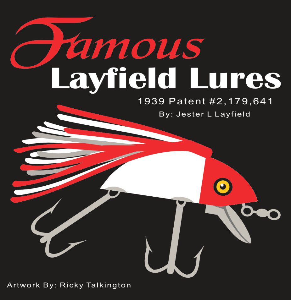 Vintage Famous Layfield Lure - Crankbaits with Skirts. Fishing Lures ...