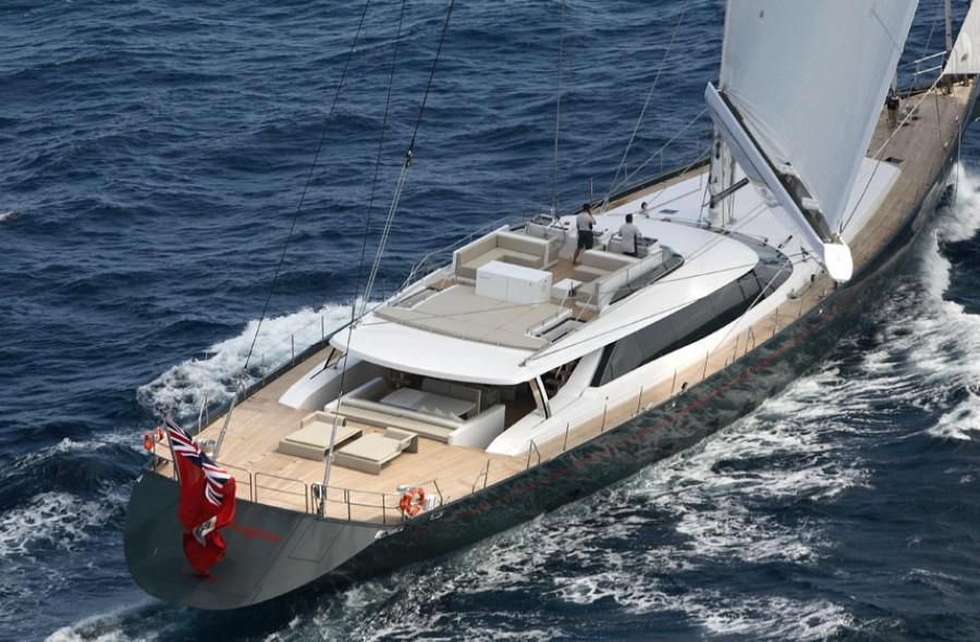 The red dragon super yacht boating yachts sailing sailboat luxury