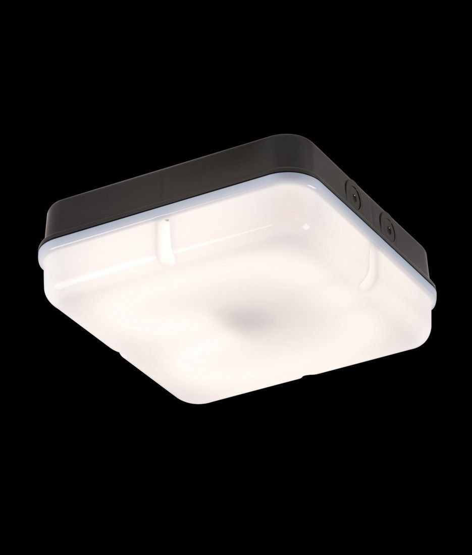 Basic Square 28w 2d Bulkhead Light Standard Or 3 Hour Light Standard Bulkhead Light Light