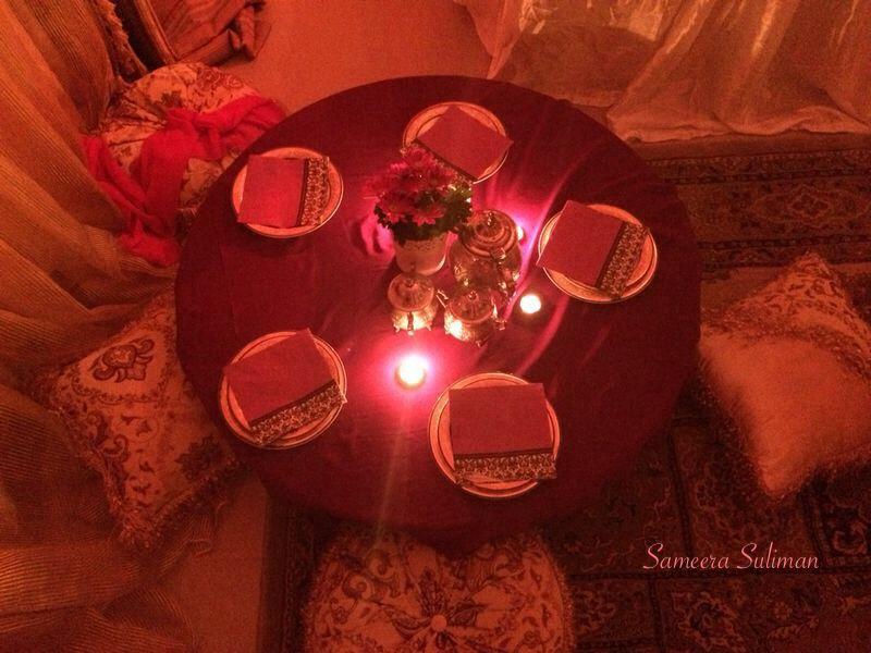 Turkish Dinner Party Ideas Part - 24: Turkish Theme Party -3- Dinner Table