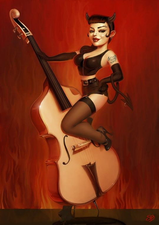 3d Pin-up by Serge Birault