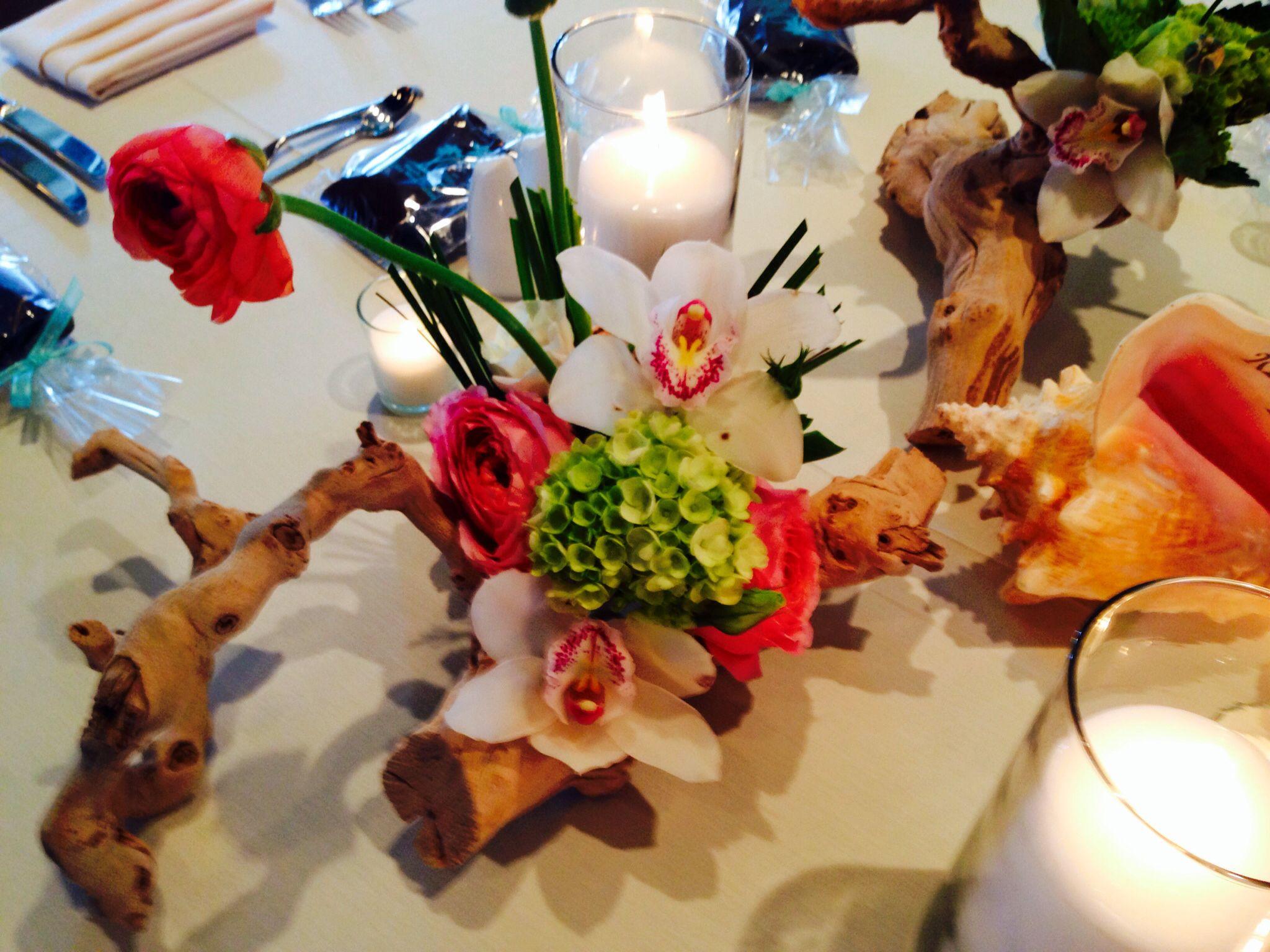 Key West Wedding, Casa Marina Wedding, Driftwood Design by Duarte Floral Design
