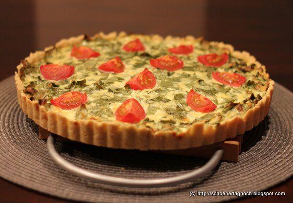 Schöner Tag noch! Food-Blog mit leckeren Rezepten für jeden Tag: Bärlauch-Tomaten-Tarte