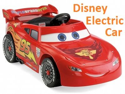 Disney Electric Car Lightning Mcqueen Wheels Pixar Cars Frozen Kids