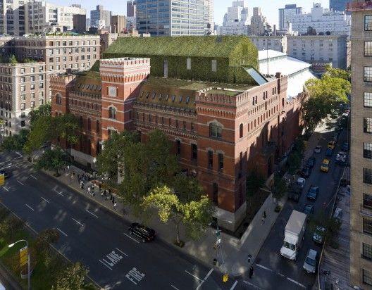 Park Avenue Armory project, Herzog  de Meuron