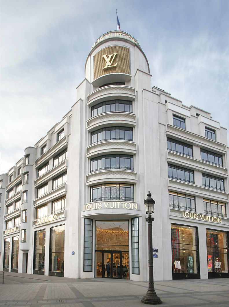 Awesome original Louis Vuitton Store