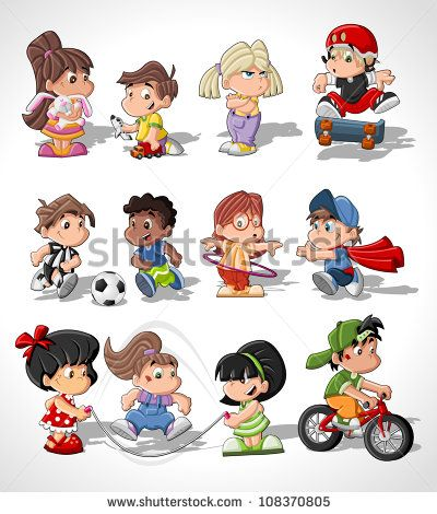 cartoons free vector for free download about 10326 free vector in ai eps - Kids Cartoons Free