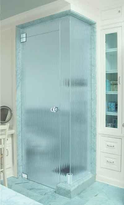 Textured Shower Door Glass Shower Doors Glass Shower Doors Attic Shower