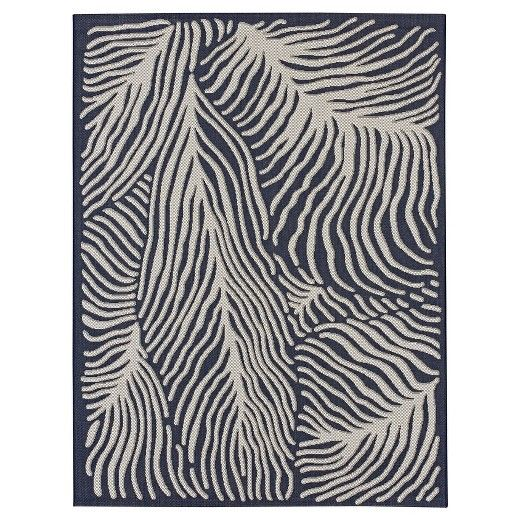 Outdoor Rug In C Blue From Threshold This Throw Is Fade Stain