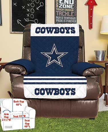 Nfl Chair Recliner Covers Dallas Cowboys Recliner