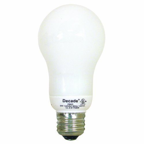 Feit Electric D9a3 Decade 9 Watt Cfl Bulb By Feit Electric 12 48 From The Manufacturer 9 Watt Decade Cfl Medi Cfl Bulbs Light Bulb Bulb