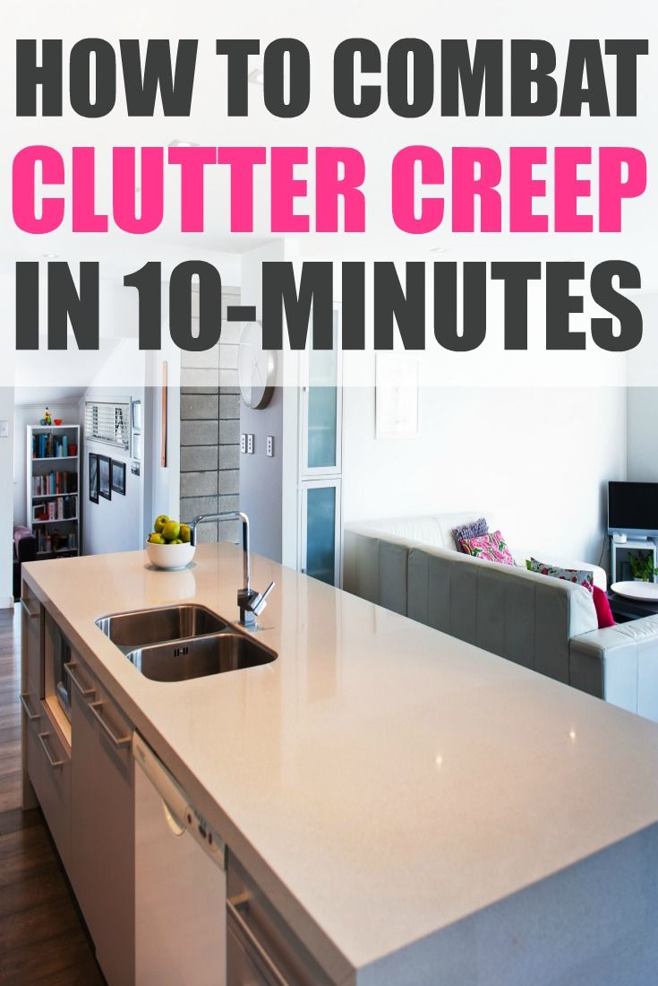 Your kitchen is the hardest-working room in your room. Do these 3 things to keep it clutter-free.