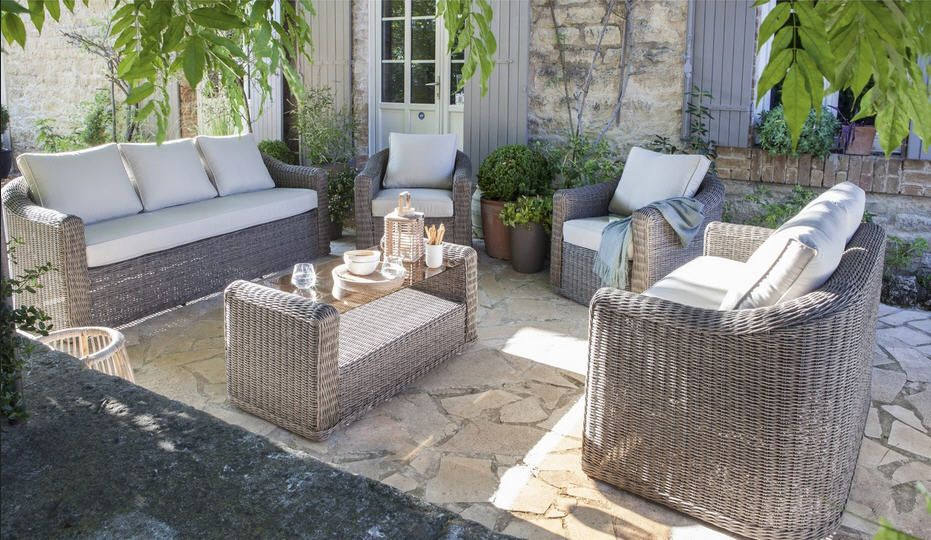 Salon jardin Cap gris anthracite | Meubles pas Cher | Patio, Outdoor ...