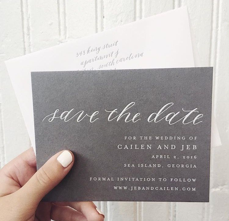 Love The Use Of Grey Paper Stock With White Foil