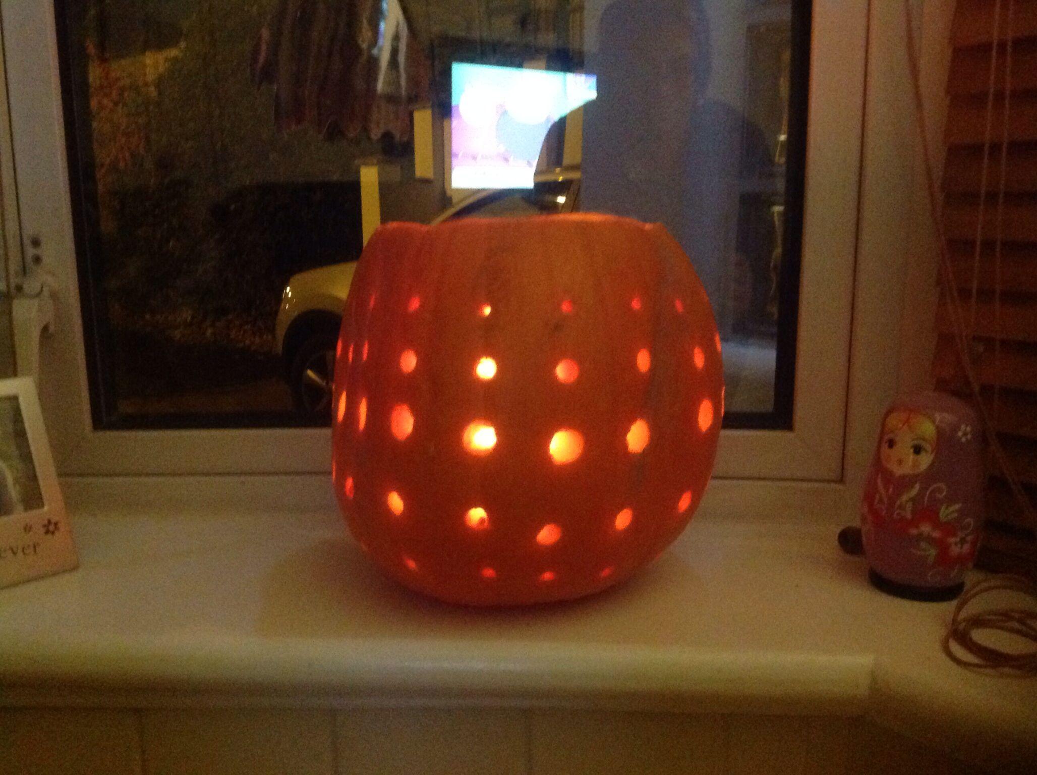 Our pumpkin!!