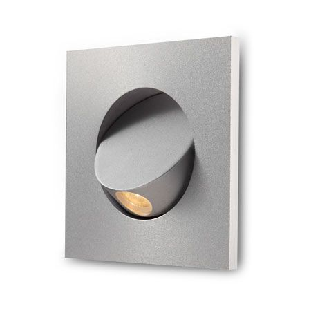 Elegante Silver Recessed Led Wall Light Lighting In 2019