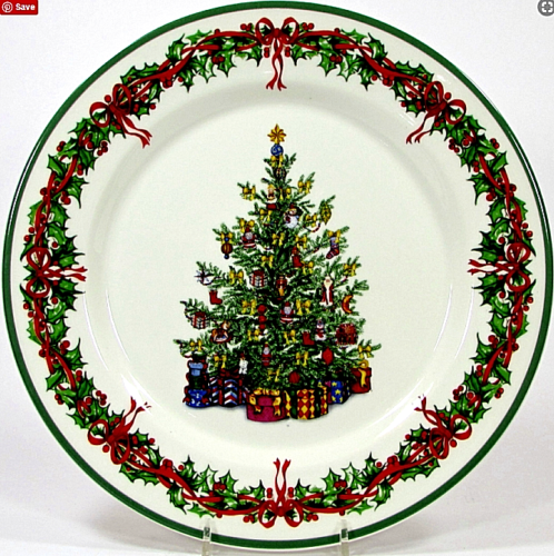 (5) Christopher Radko HOLIDAY CELEBRATIONS 11\  Dinner Plates Christmas Tree  sc 1 st  Pinterest & 5) Christopher Radko HOLIDAY CELEBRATIONS 11\