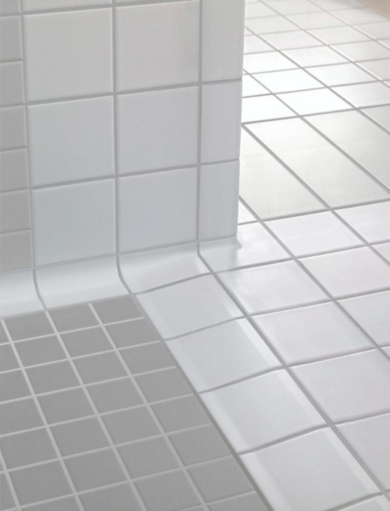 NEDTRINNS-FLISER Villeroy \ Boch fra Bergersen Flis bad - badezimmer villeroy und boch