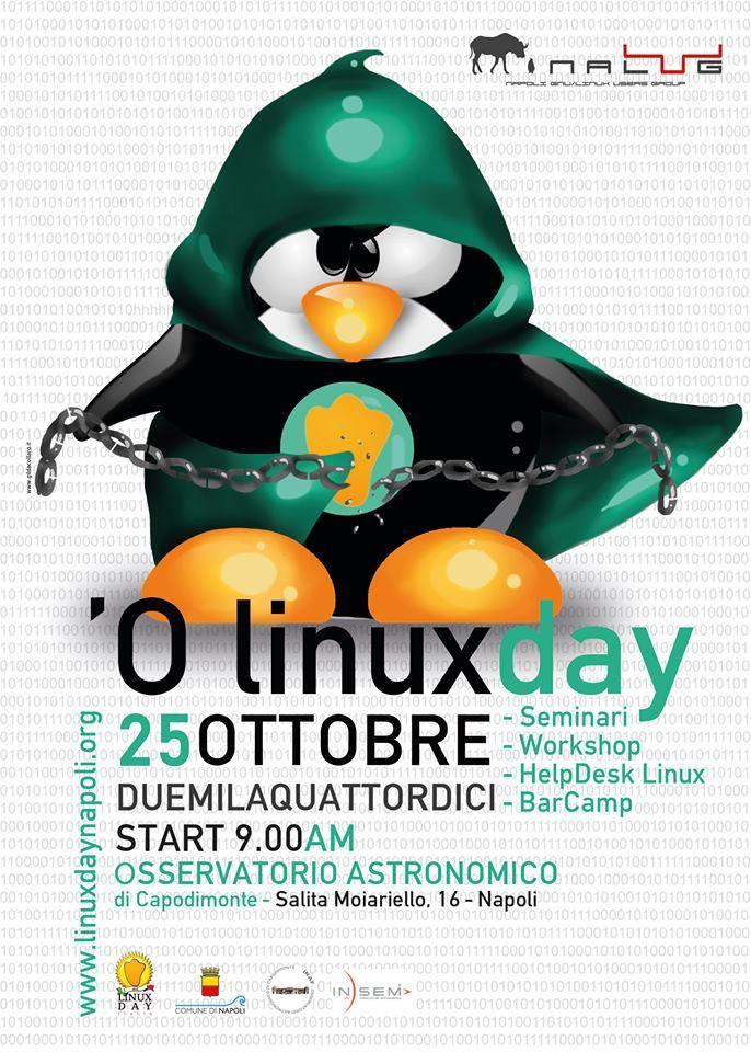 Comunicato Stampa: Insem Spa al linux Day Napoli 2014