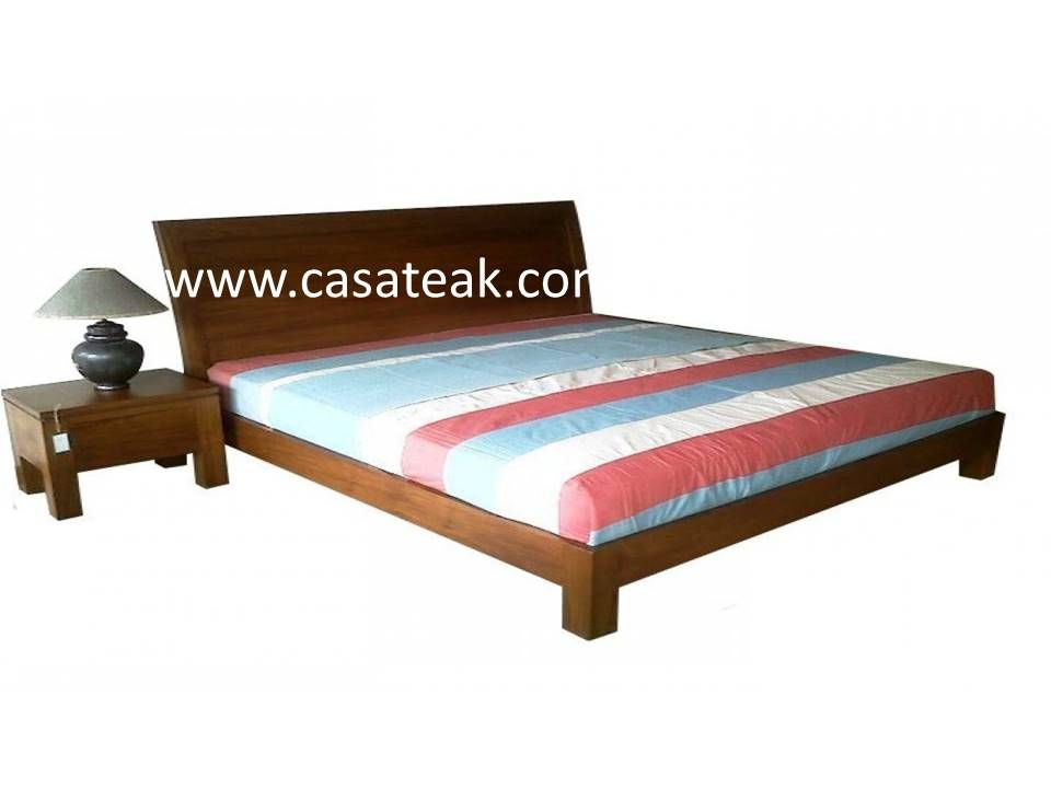 Manson King Bed Bd18 10 Wood Bedroom Furniture King Bed Frame Teak Furniture