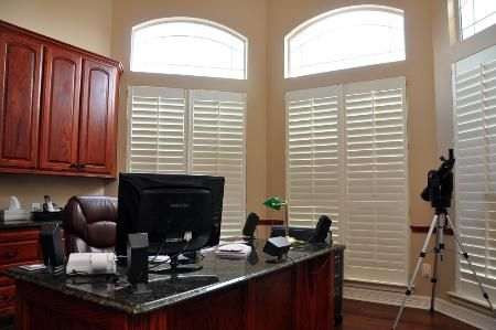 Window Coverings In San Angelo Tx Image Gallery Budget Blinds Custom Window Treatments White Shutters