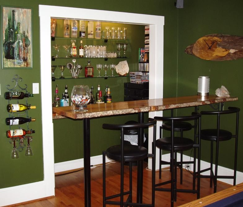 A Repurposed Closet Designed By Julie Cargill. She Turned A Closet Into A Bar  Area.