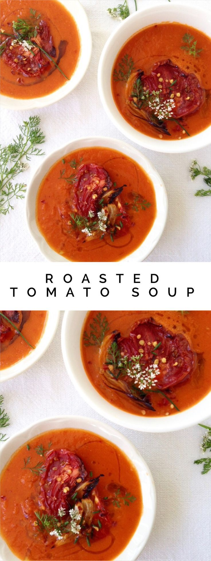 Roasted Tomato Soup Recipe   CiaoFlorentina.com