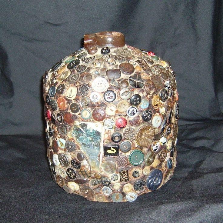 Button Craft Ideas | Reynolds family button jar, Randolph County, Arkansas