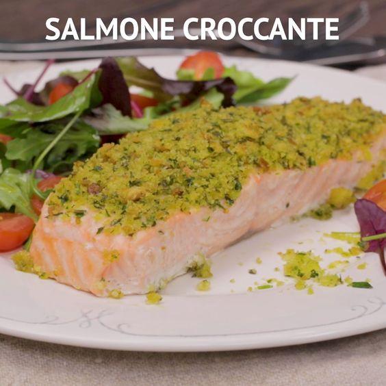 Salmone Croccante Ricetta Nel 2019 Ricette Da Provare Food