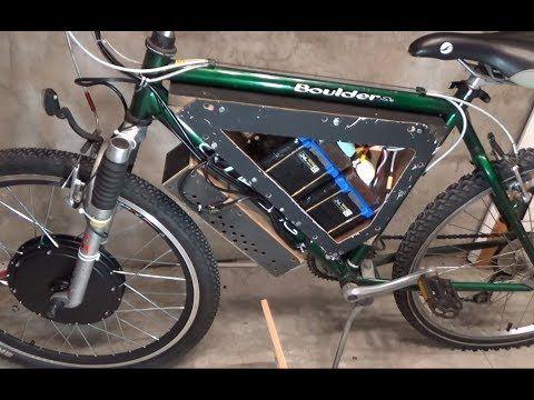 Diy Electric Bike S01e01 Home Made Ebike Battery Box Electric Bike Diy Ebike Electric Bike