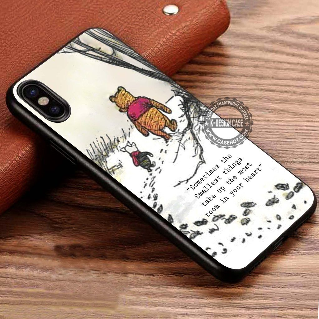 winnie the pooh Sometimes the smallest things iphone case