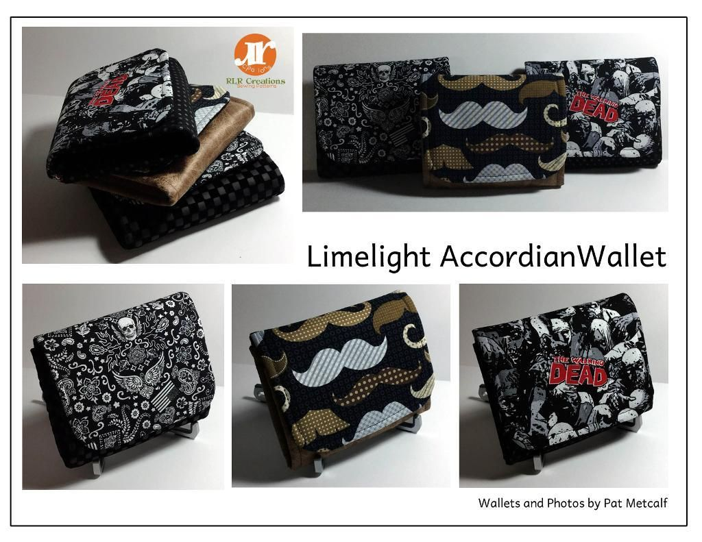 Limelight accordion wallet w id pocket sew bags sewing patterns looking for your next project youre going to love limelight accordion wallet w jeuxipadfo Choice Image