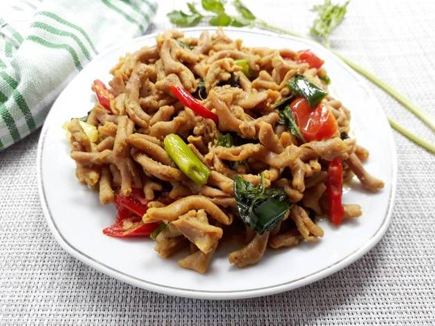 Resep Oseng Pedas Usus Bandung Recookdewilinafaidah Oleh Ochirosi Resep Resep Masakan Indonesia Resep Makanan Resep Masakan