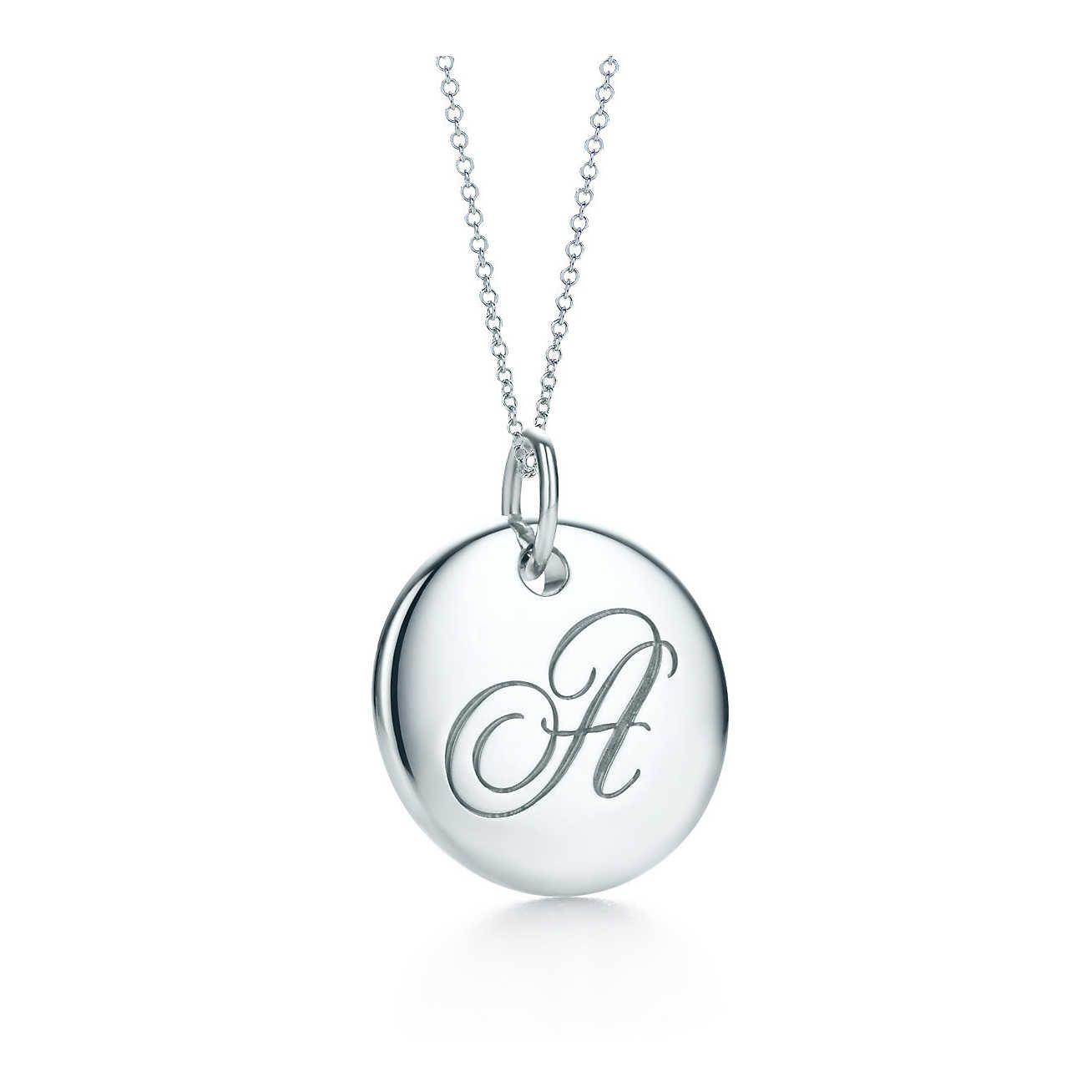 Tiffany notes alphabet disc charm pendant tiffany pendants and chains tiffany notesbralphabet disc charm pendant aloadofball Image collections