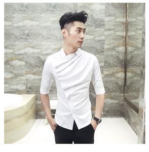 Men Casual Shirt #Tuxedos #blazer #singer #fashion #date #party #groom #jacket #suit #gentlemen #cas...