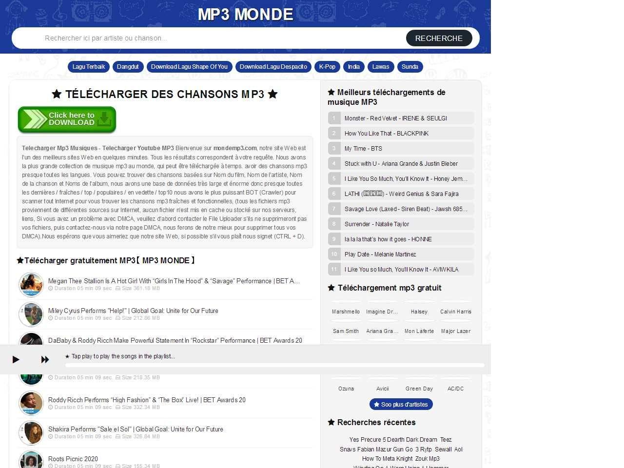 Télécharger MP3 Gratuit Telecharger Youtube MP3【 Mp3 Monde