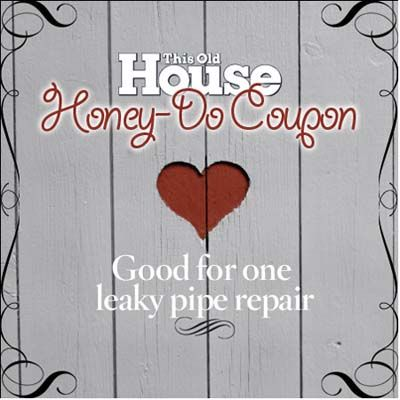 Baby it's cold out there. And if your pipes are feeling the pain, and your honey is tired of the drip, drip, drip, here's how to fix the leak. | Illustration: Douglas Adams | thisoldhouse.com