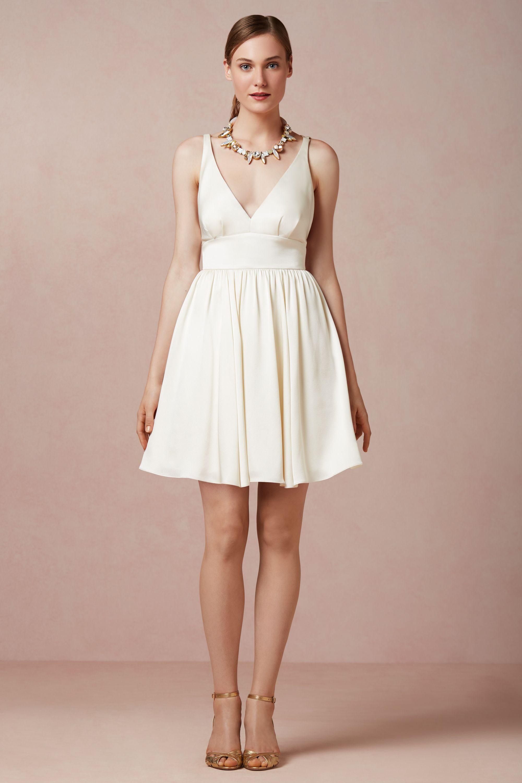 Bhldn short and sweet little white dress pinterest elegant