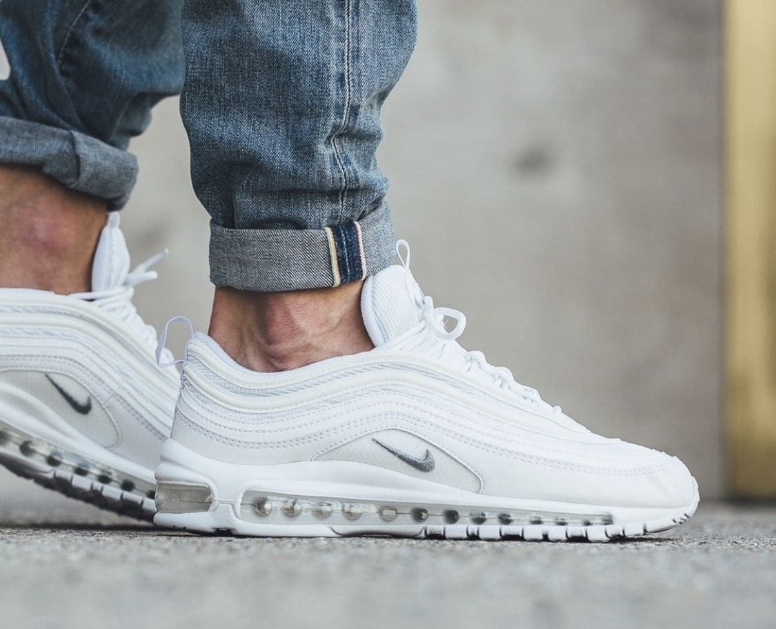 "Nike Air Max 97 ""Triple White"" in 2019 