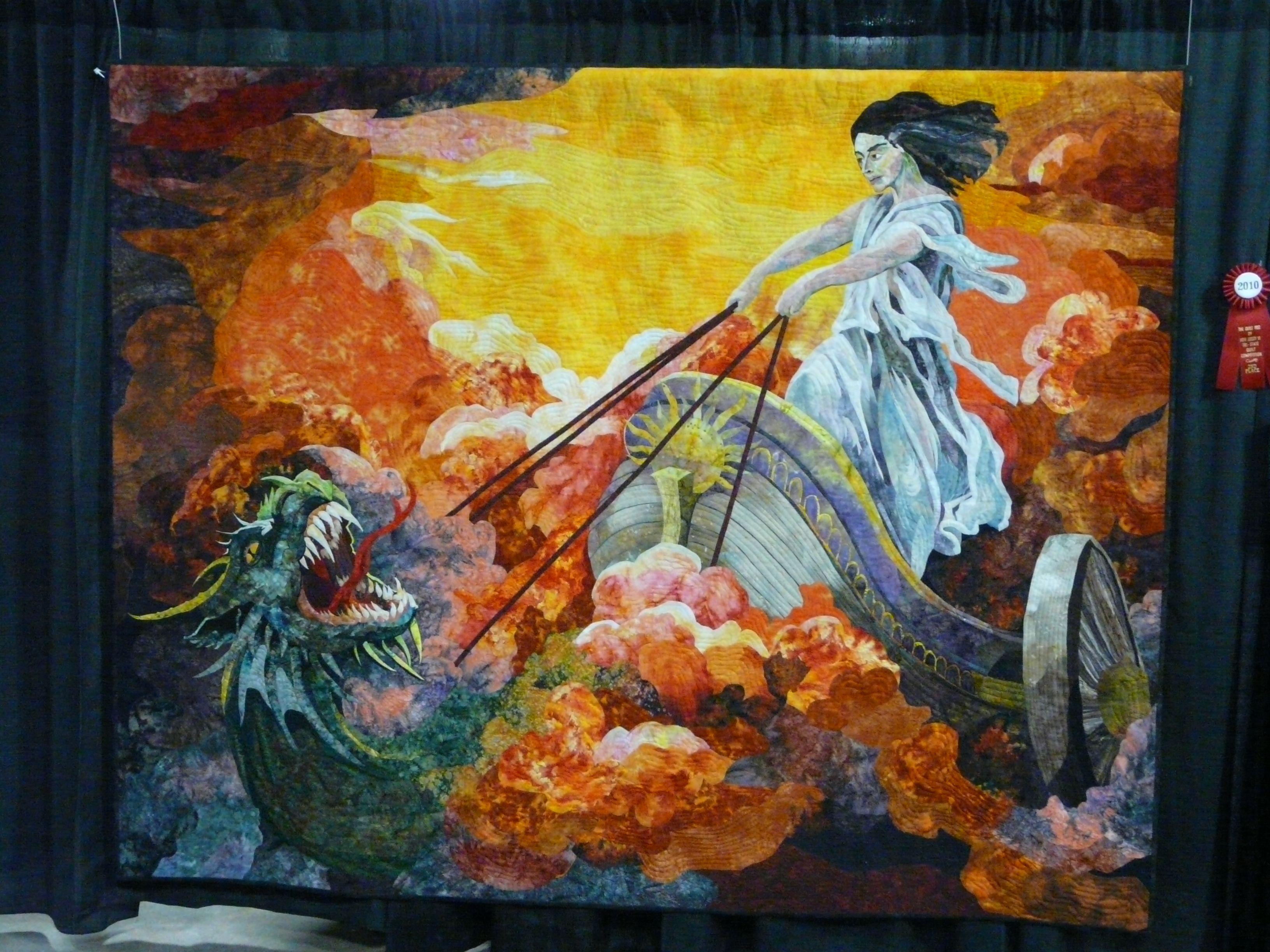 art quilting | The following group just below was done by an ... : art quilts pinterest - Adamdwight.com